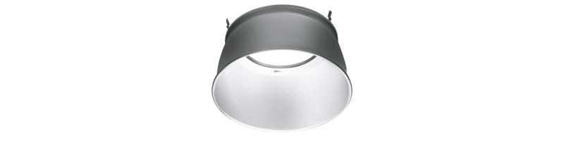 AU-RF90A - Ostia Highbay 90° Aluminum Reflector