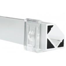 AL-P002 - 2M Aluminum Profile White Finish Surface 45°